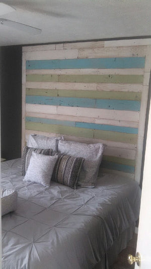 Vintage Timbers Coastal Collection Wall Board