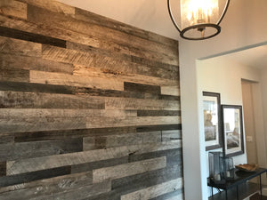 Reclaimed Wall Board Silver Grey