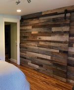 Reclaimed Wall Board Brown/Grey Mix
