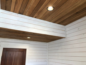 Rustic Quarter and Rift Sawn Oak Ceiling Plank
