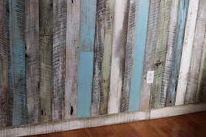 Wall Board in Coastal Colors