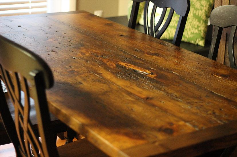 Farm Table from Reclaimed Wood