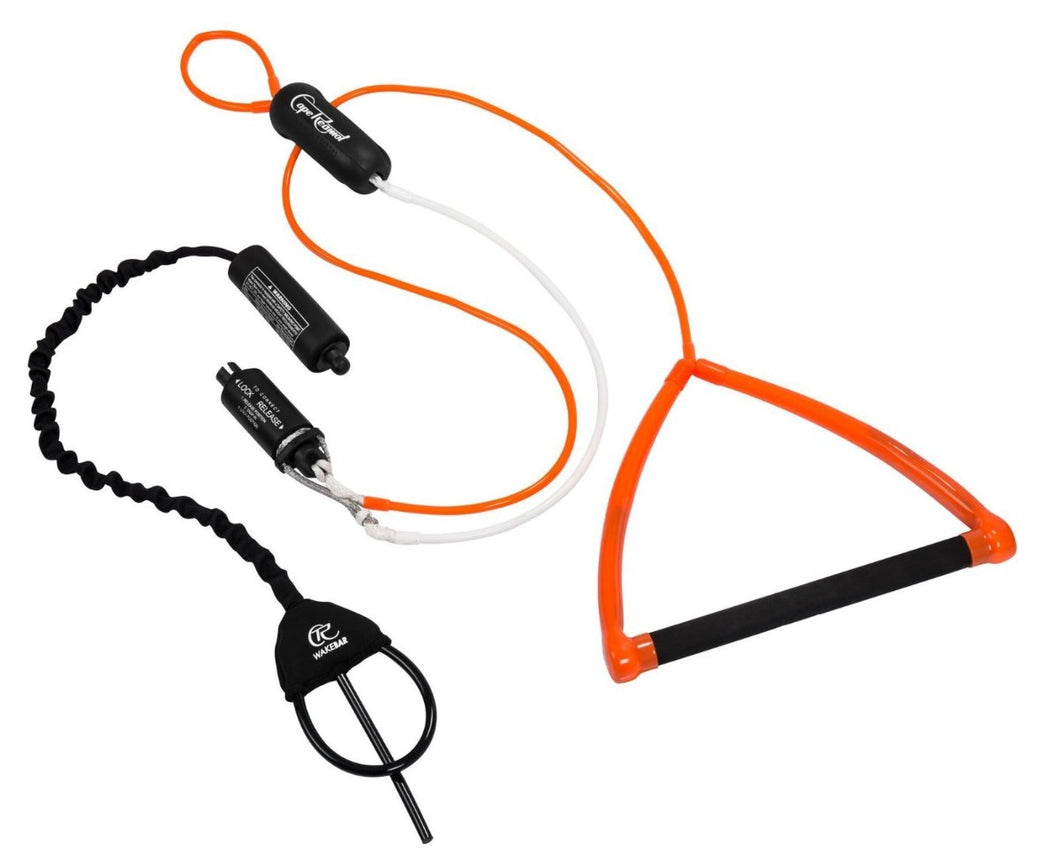 WAKEBAR + Chicken-Loop Connector (Ready for use with any Kite/ Surf Harness)