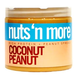 Nuts 'N More High Protein Coconut Peanut Butter, 16oz (1494103523393)