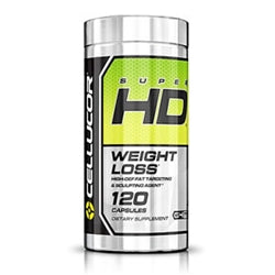 Cellucor Super HD G4 Chrome, 120 capsules