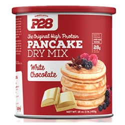 P28 High Protein Pancake Dry Mix, 16oz (White Chocolate)