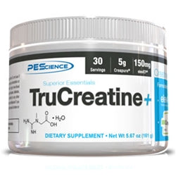 PEScience TruCreatine+, 30 servings (1494093234241)