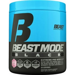 Beast Sports Beast Mode Black, 30 servings
