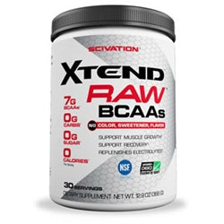 Scivation Xtend Raw BCAAs, 30 servings