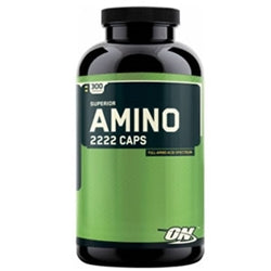 Optimum Nutrition Superior Amino 2222 Caps, 300 Capsules (1494130622529)