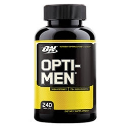 Optimum Nutrition Opti-Men, 240 tablets (1494176399425)