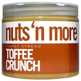 Nuts 'N More Classic Toffee Crunch Peanut Butter Spread, 16oz (1494021013569)