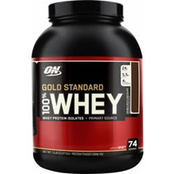 Optimum Nutrition 100% Whey Gold Standard, 5lb (1494159065153)