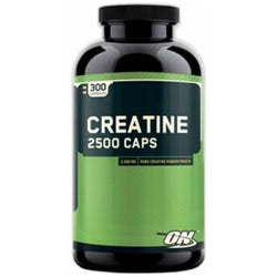 Optimum Nutrition Creatine 2500 Caps, 300 capsules (1494156673089)