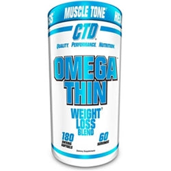 CTD Sports OmegaThin, 180 softgels