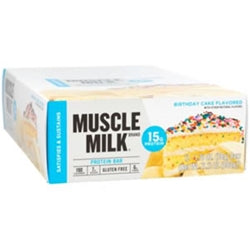 CytoSport Muscle Milk Blue Protein Bars, Box of 12 (1494183936065)