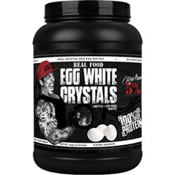 Rich Piana 5% Nutrition Real Food Egg White Crystals, 30 servings (1494079733825)