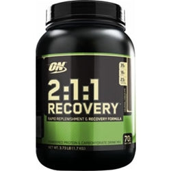 Optimum Nutrition 2:1:1 Recovery, 3.73lb (Colossal Chocolate) (1494173810753)
