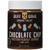 Buff Bake Chocolate Chip Protein Peanut Spread, 13oz (1494018588737)