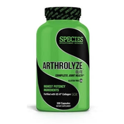 Species Arthrolyze Elite, 300 capsules (1494196912193)