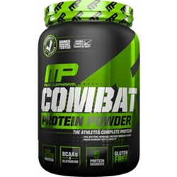MusclePharm Combat Protein Powder, 2lb (1494200221761)