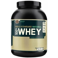 Optimum Nutrition Gold Standard 100% Natural Whey, 4.8lb (1494174990401)