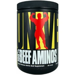 Universal Nutrition 100% Beef Aminos, 200 tablets (1494140354625)