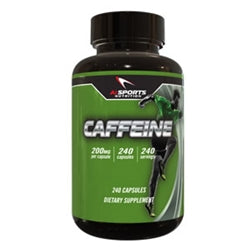 AI Sports Nutrition Caffeine, 240 capsules