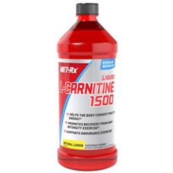 MET-Rx Liquid L-Carnitine 1500, 16oz (473mL) (1494127968321)