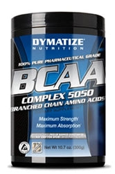 Dymatize BCAA Complex 5050, 300g (Unflavored) (1494024814657)