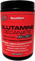 MuscleMeds Glutamine Decanate, 300g (10.58oz) (1494195929153)