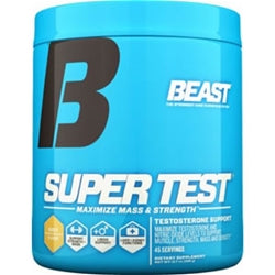 Beast Sports Nutrition Super Test Powder, 45 servings (Iced-T) (1494122266689)