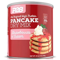 P28 High Protein Pancake Dry Mix, 16oz (Strawberries n' Cream)
