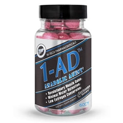 Hi-Tech Pharmaceuticals 1-AD, 60 tablets