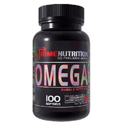 Prime Nutrition Omega, 100 softgels (BEST BY 1/17) (1494043951169)