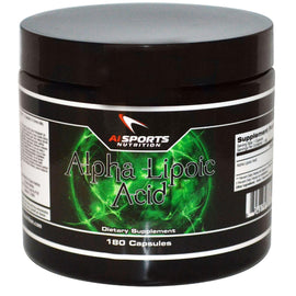 AI Sports Nutrition Alpha Lipoic Acid, 180 capsules