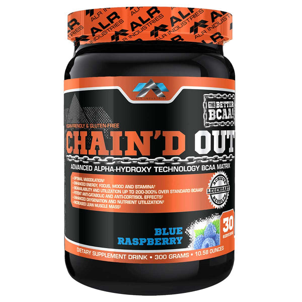 ALRI (ALR Industries) Chain'd Out 30 Servings Blue Raspberry (1494209232961)