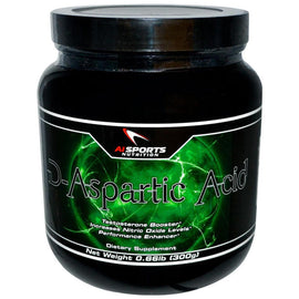 AI Sports Nutrition D-Aspartic Acid, 300g