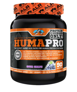 ALR Industries HumaPro Powder, 90 servings Grape (1494208741441)