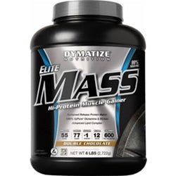 Dymatize Elite Mass Gainer, 6lb (1493999747137)