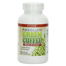Absolute Nutrition Green Coffee Bean Extract 60 Capsules (3927711449153)