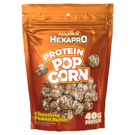 Allmax Nutrition Hexapro Protein Popcorn 4 Servings Chocolate Peanut Butter (4166663700545)