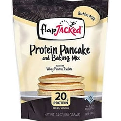 FlapJacked Protein Pancake & Baking Mix, 24oz (680g)