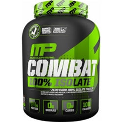 MusclePharm Combat 100% Isolate, 5lb (1494200123457)