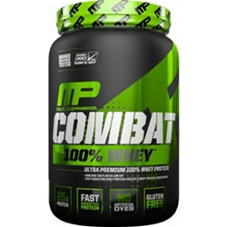 MusclePharm Combat 100% Whey, 2lb (1494178398273)