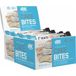 Optimum Nutrition Protein Cake Bites (Box of 12)