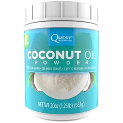 Quest Nutrition Coconut Oil Powder, 1.25lb (1494153855041)