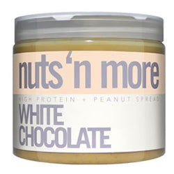 Nuts 'N More High Protein White Chocolate Peanut Butter, 16oz (1494103883841)