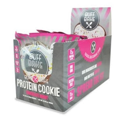 Buff Bake Chocolate Donut Protein Cookie, Box of 12 (1494104145985)