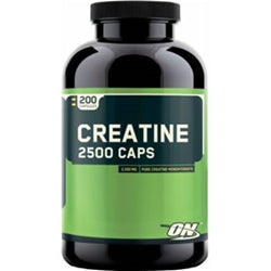 Optimum Nutrition Creatine 2500 Caps, 200 capsules (1494175055937)